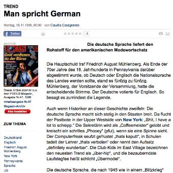 FOCUS Magazin Verlag Artikel Claudia Casagrande