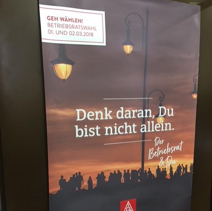Wahlkampf Betriebsrat IG Metall München